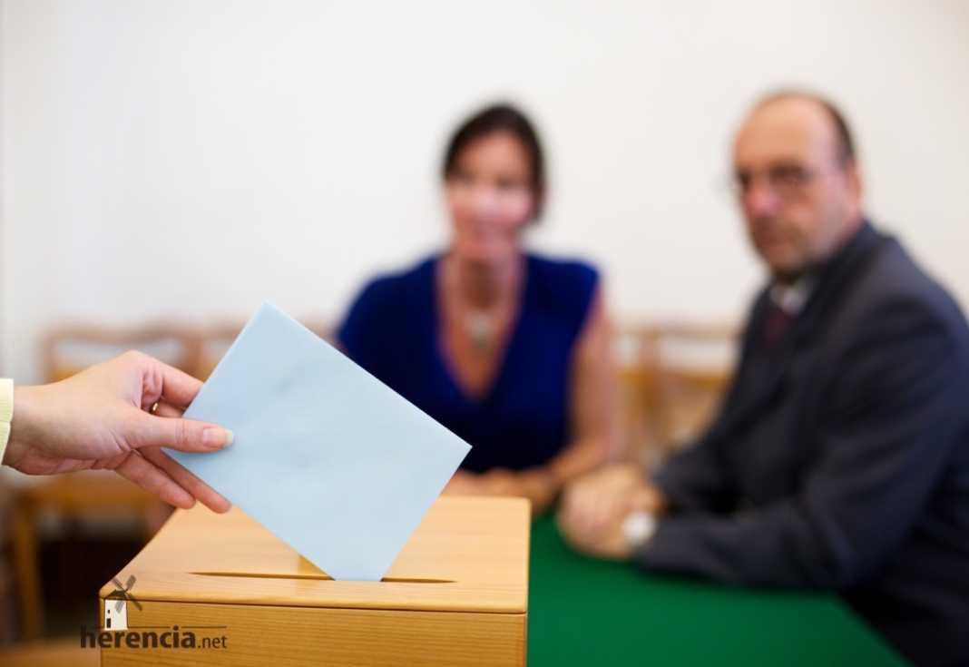 votacion en elecciones herencia 1068x735 - Arranque de la jornada de votación 20d sin incidentes