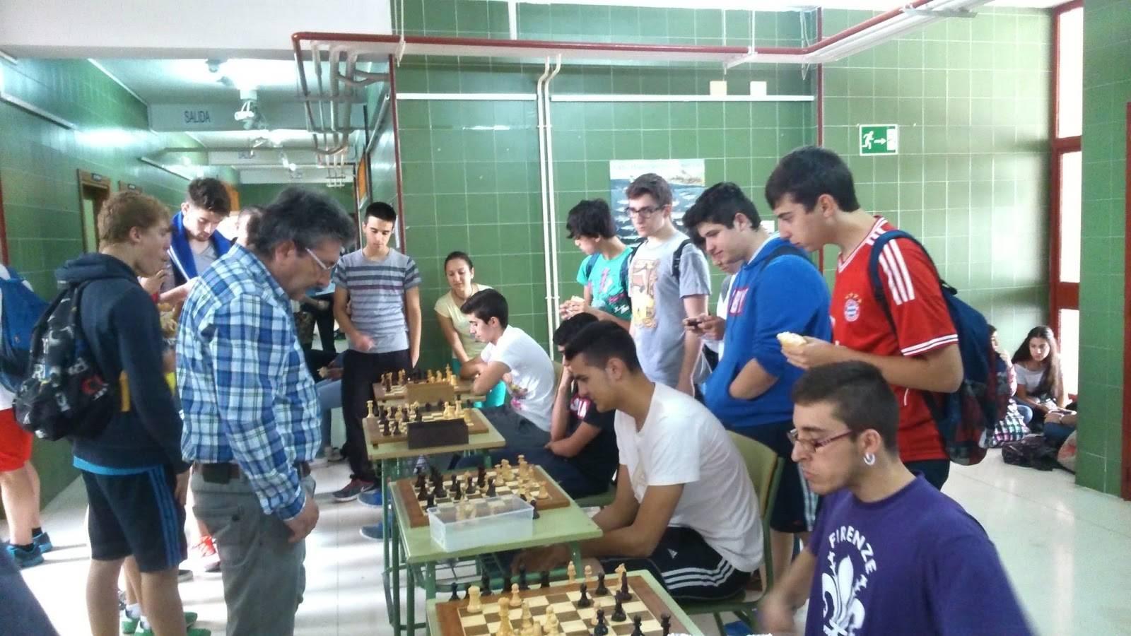 Campeonato de ajedrez Anthropos 2015
