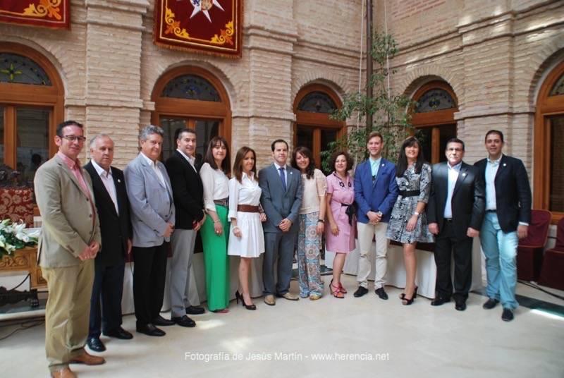 Vídeo y fotogalería de la constitución de la nueva corporación municipal de Herencia 26