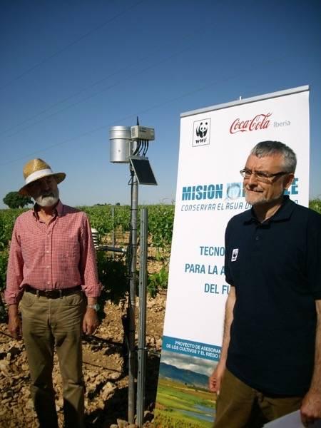 DSCI0904 - WWF colabora con la Comunidad de Regantes de Herencia para instalar su tecnología OptiWine en uno de los mayores viñedos de La Mancha