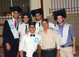 Graduación alumnos segundo de bachillerato Herencia 2015