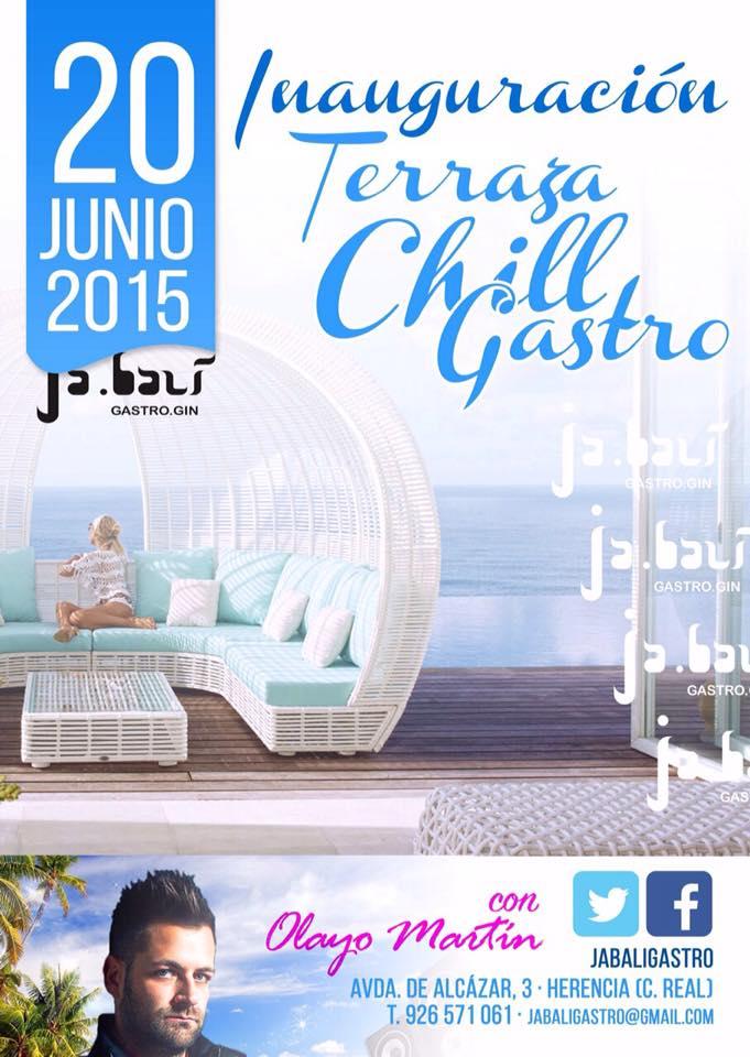 El restaurante Ja.balí inaugura su terraza Chill Gastro 1