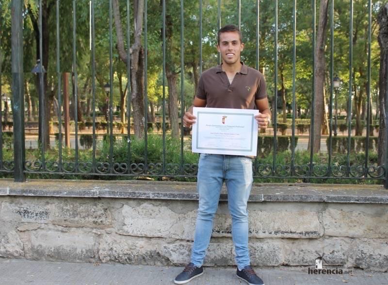 Jose Carlos Diaz-Pavon premio extraordinario de Enologia