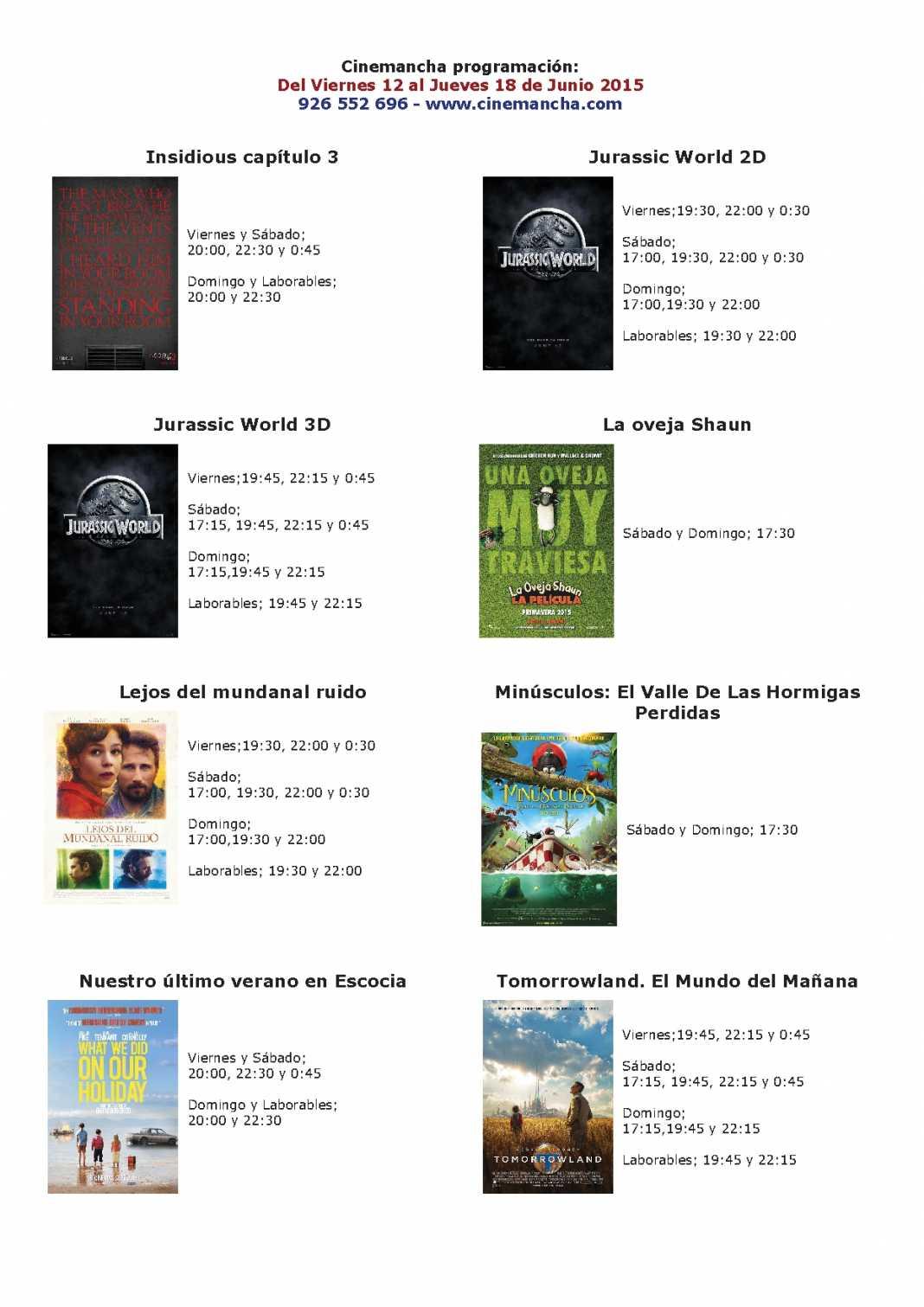 cartelera de cinemancha del 11 al 18 de junio 1068x1511 - Cartelera de Cinemancha del 12 al 18 de junio