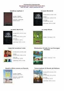 cartelera de cinemancha del 11 al 18 de junio