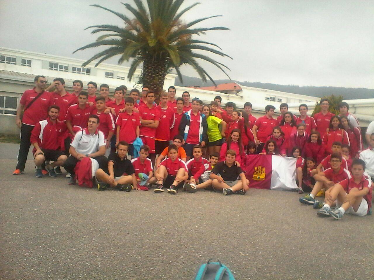 Equipos de balonmano de Herencia en la Captain Nemo's Cup. Foto extraída del facebook SMD Herencia