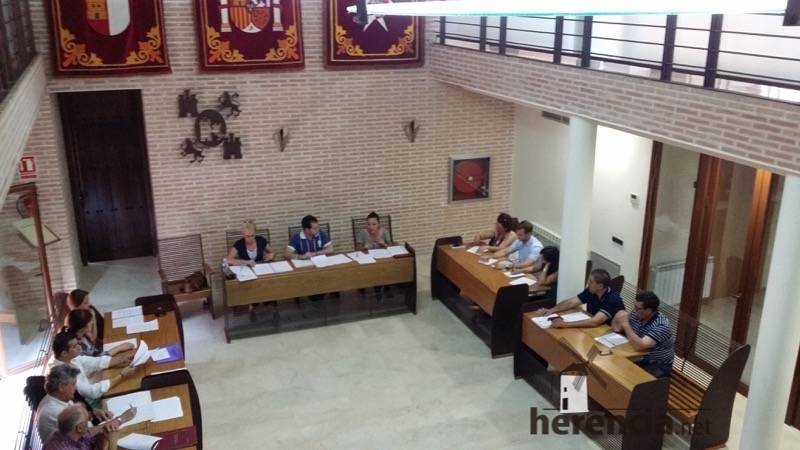 Pleno municipal de Herencia. Junio 2015