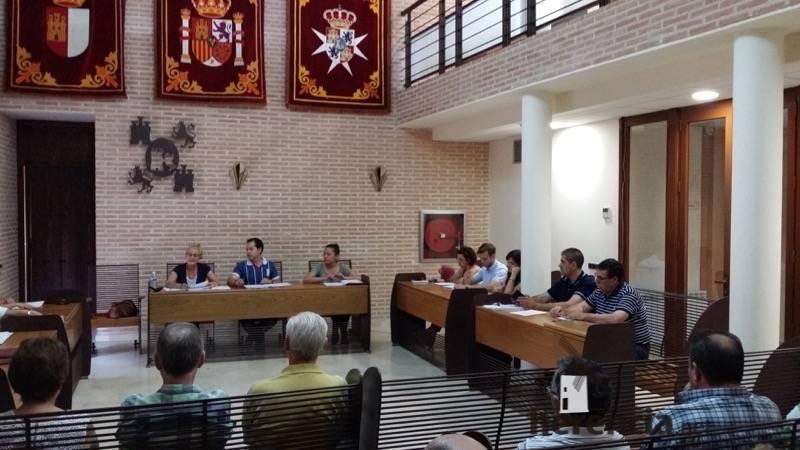 Pleno municipal de Herencia. Junio 2015
