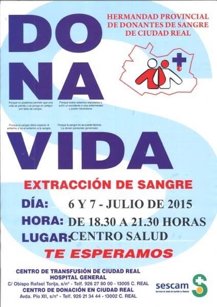 Campaña donación de sangre en Herencia1 - Campaña de donación de sangre en Herencia