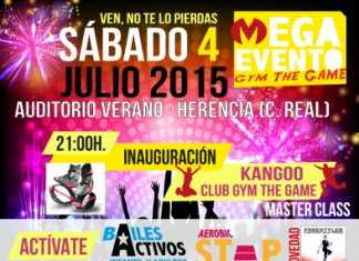 Cartel Megaevento Kangoo Club The Game Herencia