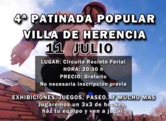 Cartel patinada Herencia 2015