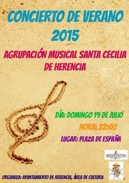 Concierto de Verano agrupacion musical de Herencia - Concierto de verano de la agrupación musical
