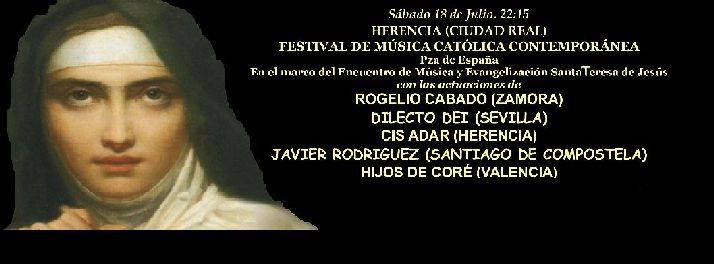 Festival de música católica contemporánea en Herencia