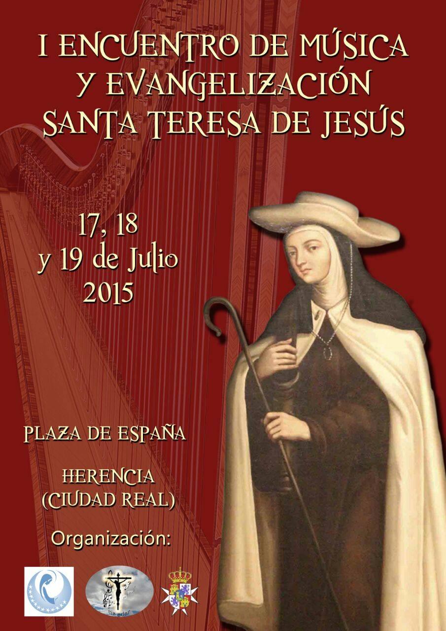 Encuentro de música santa Teresa de Jesus en Herencia