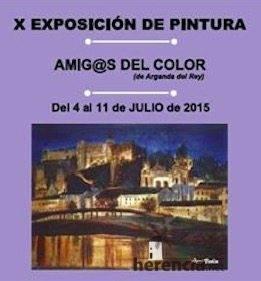 Exposicion Amigas del Color en Herencia 2015 - Exposición de pinturas Amig@s del Color