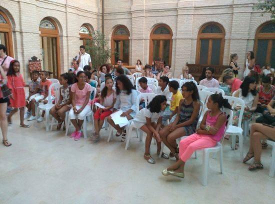 Recepción de niños saharauis en el Ayuntamiento de Herencia 1