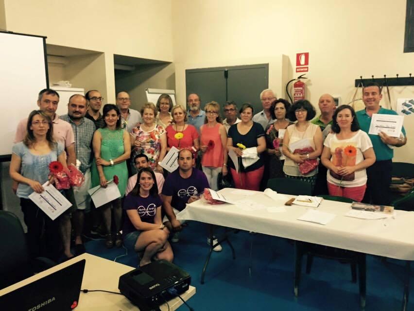 III Curso de cata de vinos de Herencia 9 - Éxito del III curso de cata de vinos. Fotogalería