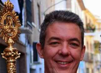 Pedro Almoguera Gonzalez. Hermano Mayor de la Cofradia del Santo.
