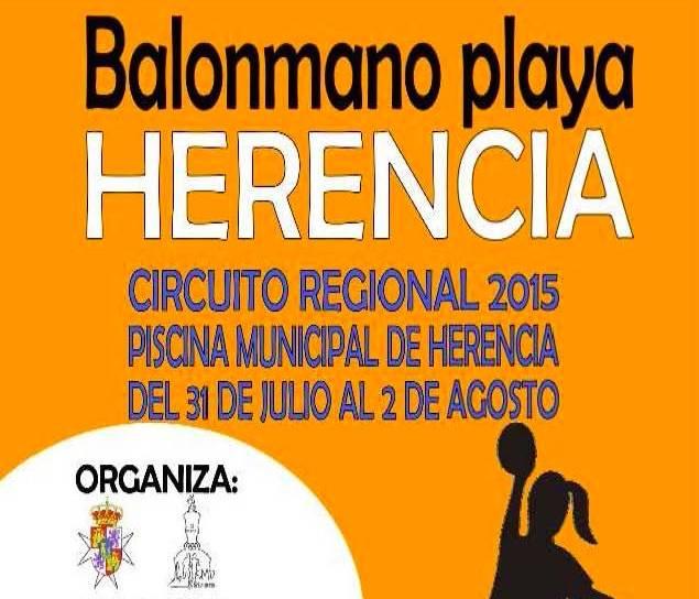 circuito regional balonmano playa herencia