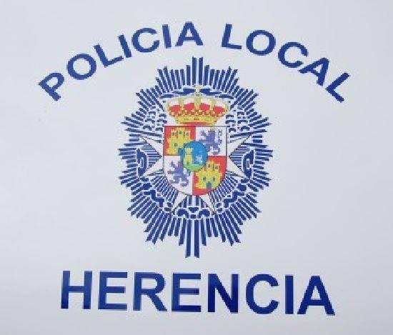escudo policia local de herencia ciudad real - La Policía Local de Herencia llega a las redes sociales
