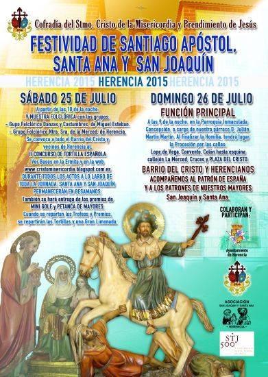 festividad de santiago apostol san joaquin santa ana - Empiezan las fiestas de barrio del Cristo en honor al Apóstol Santiago, San Joaquín y Santa Ana