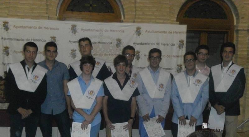Pedro Pablo López-Serrano mejor expediente del colegio seminario menor mercedario 1