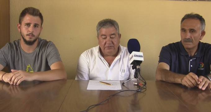 Josu Jiménez, José Antonio Rosell y Tolo Ocaña.