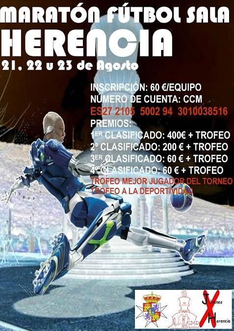 maratón fútbol sala 2015
