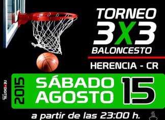 Torneo 3x3 de baloncesto en Herencia