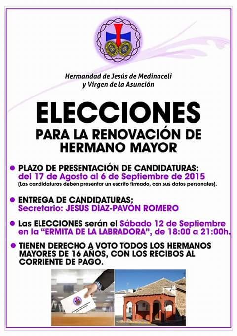 elecciones renovar hermano mayor