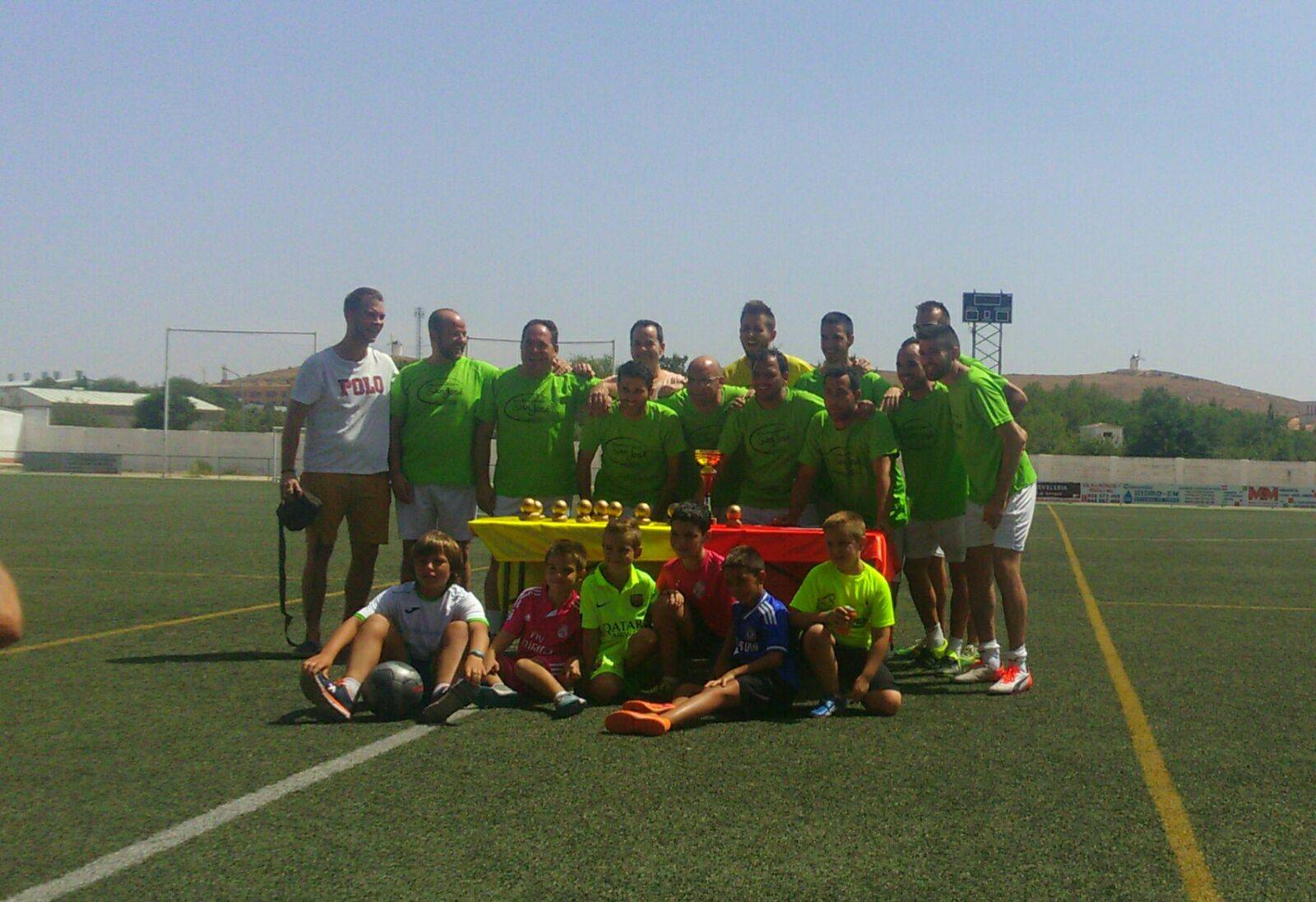los pitorra en futbol 7 1 - Los Pitorra campeones de la primera liga local de fútbol 7