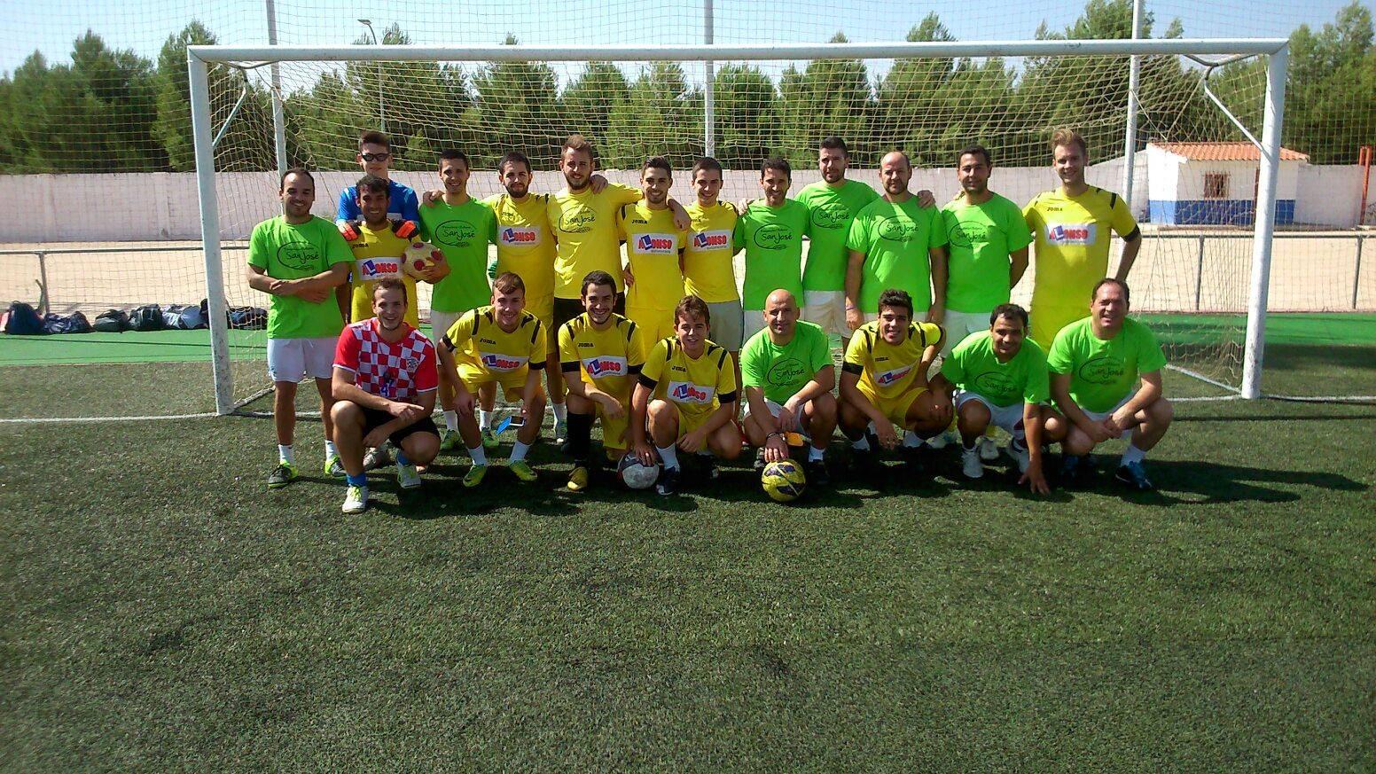 los pitorra en futbol 7 2 - Los Pitorra campeones de la primera liga local de fútbol 7