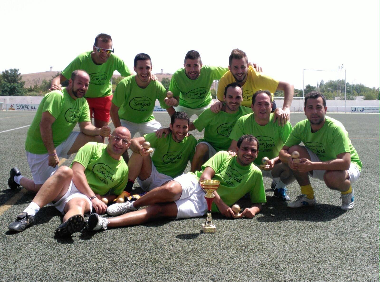 los pitorra futbol 7 - Los Pitorra campeones de la primera liga local de fútbol 7