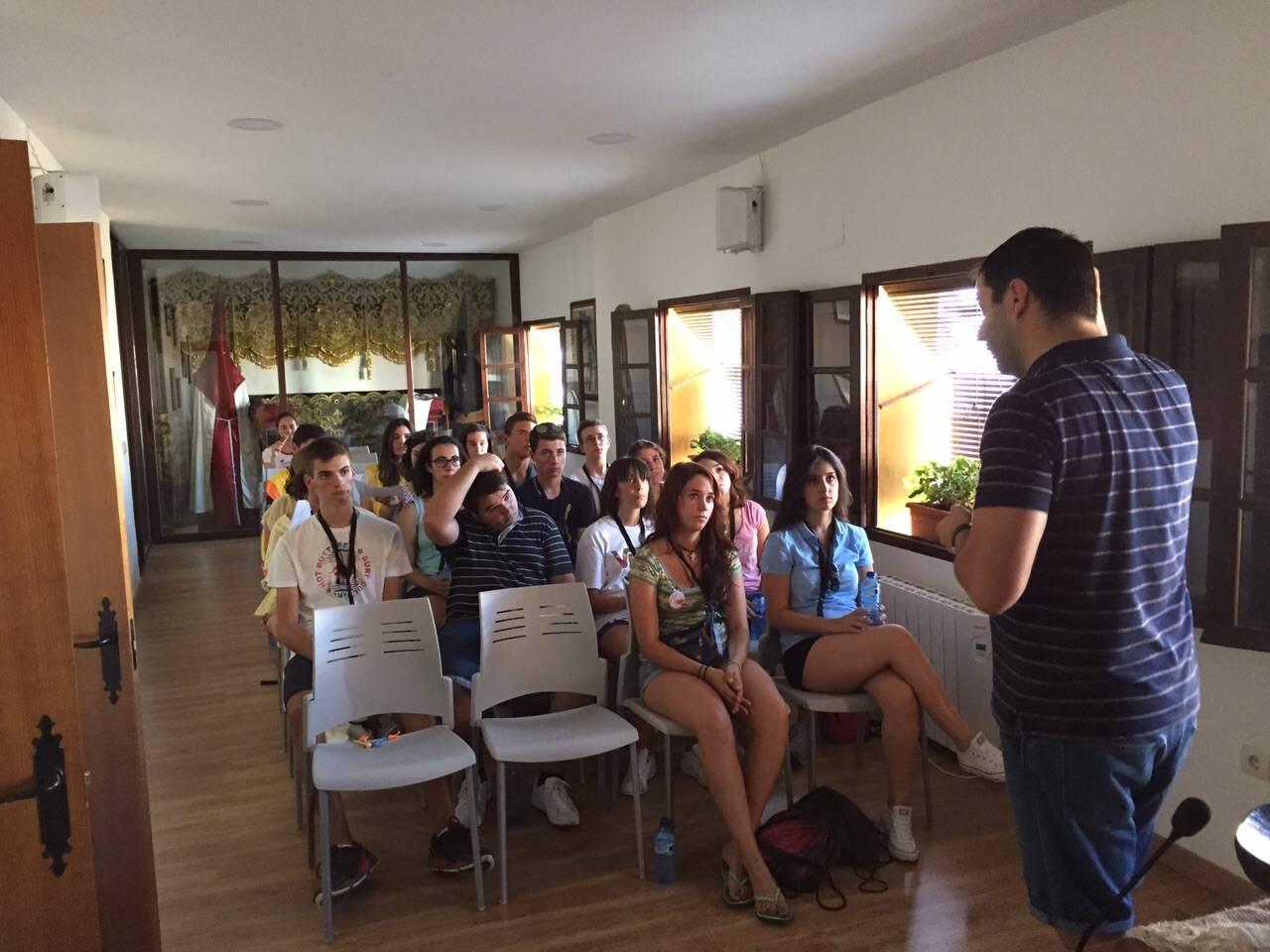 peregrinacion joves a avila - Inicio de peregrinación diocesana de jóvenes a Ávila