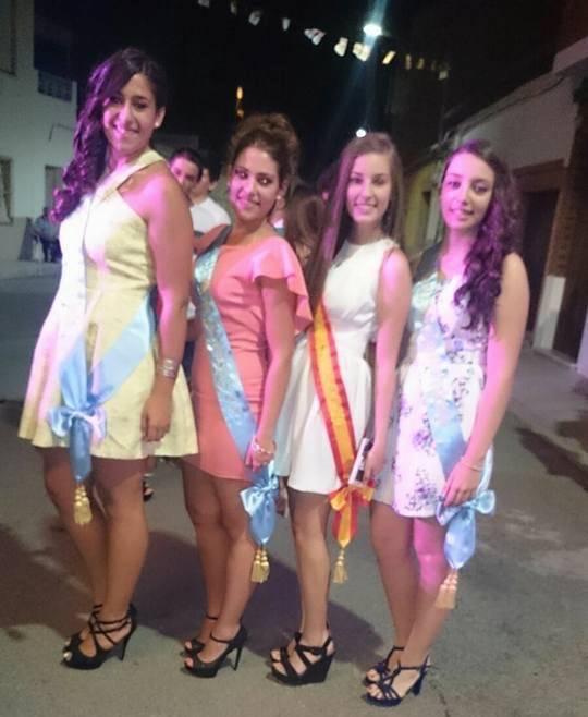 Reina y Dama de la Feria y Fiestas 2015 de Herencia (Ciudad Real)