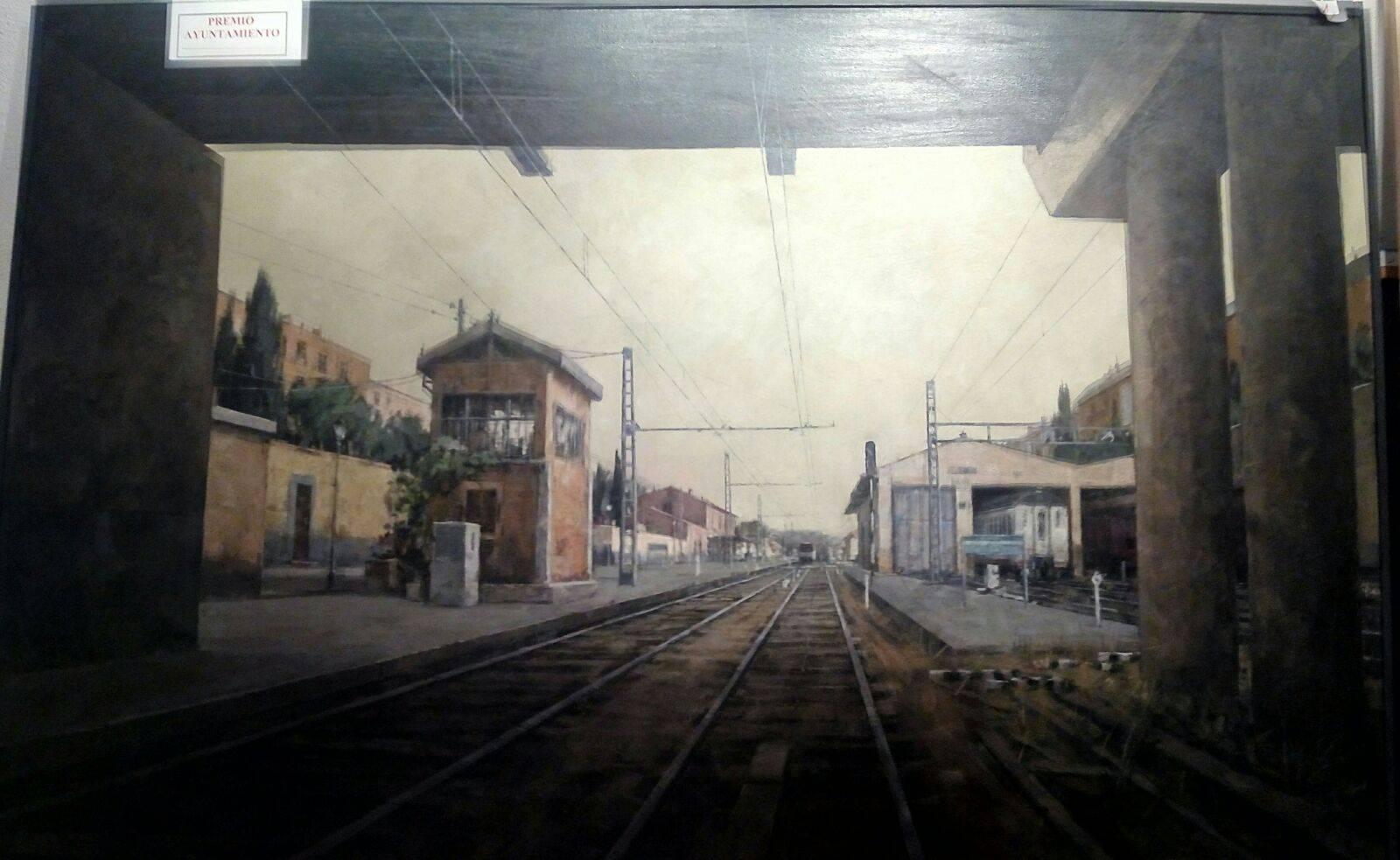 """Auto vias José María Díaz Martínez Premio ayto Certamen de pintura - Participa en el XXXIV Certamen Nacional de Pintura """"Jesús Madero"""""""