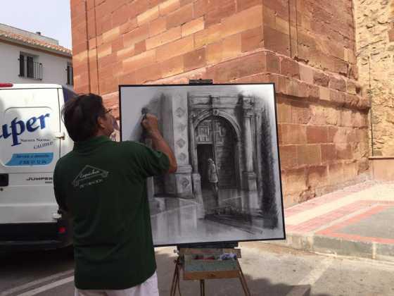 Certamen de pintura rápida  560x420 - Feria y Fiestas de Herencia en imágenes