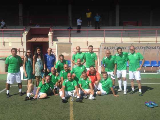 Equipo de veteranos de fútbol 560x420 - Feria y Fiestas de Herencia en imágenes