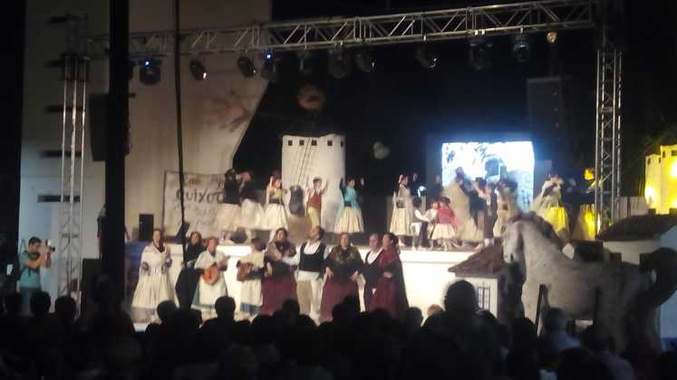 Espectágulo del grupo Las Dynamo 747x420 - Feria y Fiestas de Herencia en imágenes