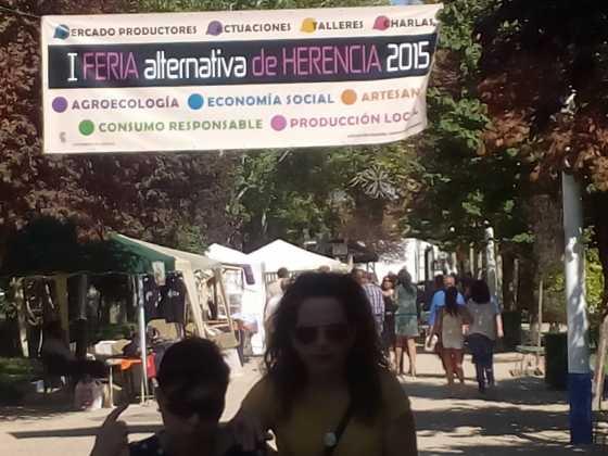 Feria Alternativa de Herencia1 560x420 - Feria y Fiestas de Herencia en imágenes
