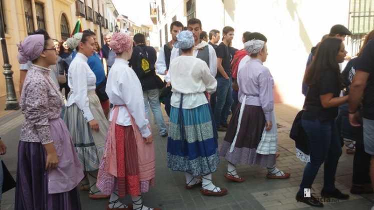 Grupo de coros y danzas del Pais Vasco 747x420 - Feria y Fiestas de Herencia en imágenes