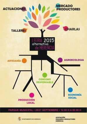 I Feria Alternativa de Herencia cartel1 297x420 - Feria y Fiestas de Herencia en imágenes
