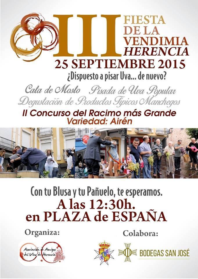 III FIESTA DE LA VENDIMIA DE HERENCIA - Tercera Fiesta de la Vendimia de Herencia