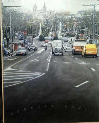 Neptuno Raúl Gil premio tecnove certamen de pintura 338x420 - Feria y Fiestas de Herencia en imágenes