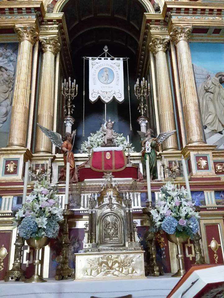 Ni%C3%B1o Jes%C3%BAs de La Merced de la Primitiva Imagen 1 - El Niño Jesús de la Merced regresa a Herencia