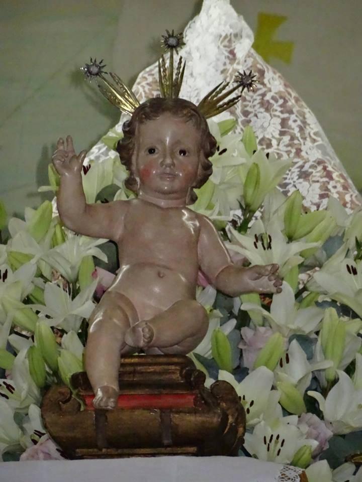 Niño Jesús de La Merced de la primitiva imagen - El Niño Jesús de la Merced regresa a Herencia