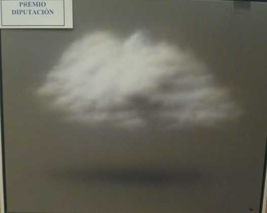 Nube Teruhiro Ando premio diputación del certamen de pintura 527x420 - Feria y Fiestas de Herencia en imágenes