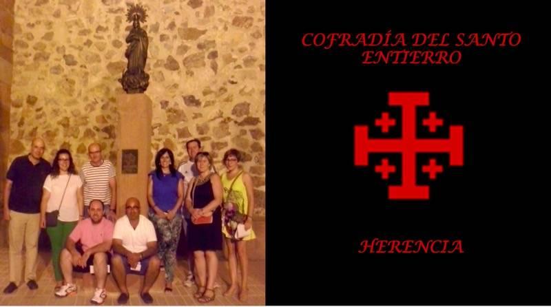 Nueva directiva de la Cofradia del Santo Entierro de Herencia