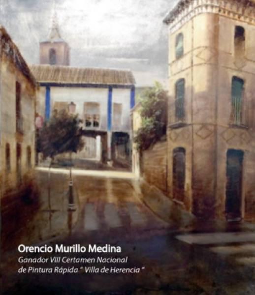 Orencio Murillo Medina ganador del VIII Certamen Nacional de Pintura Rápida de Herencia - Bases del IX Certamen Nacional de Pintura Rápida de Herencia
