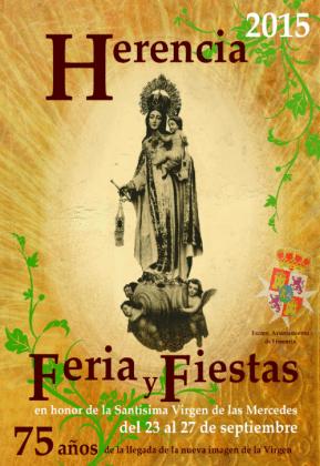 Portada feria y fiestas 2015 289x420 - Feria y Fiestas de Herencia en imágenes